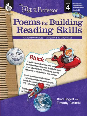 cover image of The Poet and the Professor: Poems for Building Reading Skills: Level 4