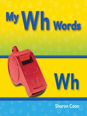 cover image of My Wh Words