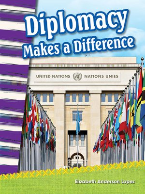 cover image of Diplomacy Makes a Difference