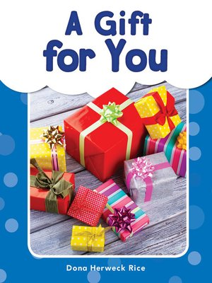cover image of A Gift for You
