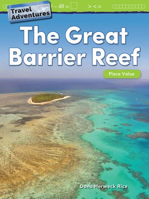 cover image of Travel Adventures: The Great Barrier Reef: Place Value