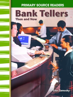 cover image of Bank Tellers Then and Now