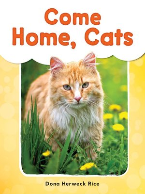 cover image of Come Home, Cats