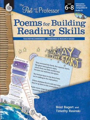cover image of The Poet and the Professor: Poems for Building Reading Skills: Levels 6-8