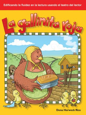 cover image of La gallinita roja (The Little Red Hen)