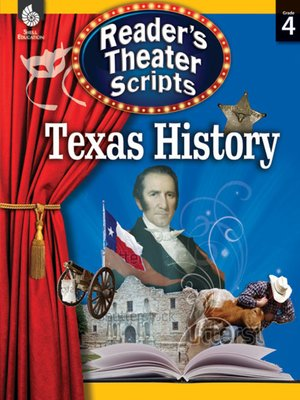 cover image of Reader's Theater Scripts—Texas History