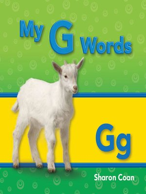 cover image of My G Words