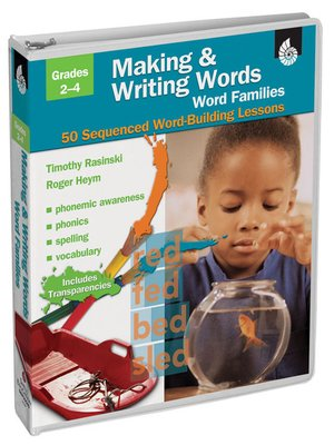 cover image of Making & Writing Words: Word Families