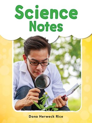 cover image of Science Notes Read-Along eBook