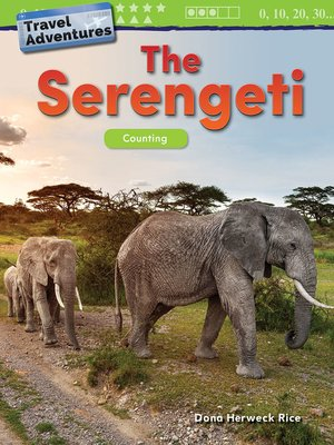 cover image of Travel Adventures: The Serengeti: Counting