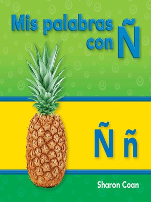 cover image of Mis palabras con Ñ