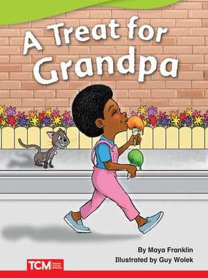 cover image of A Treat for Grandpa