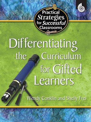 cover image of Differentiating the Curriculum for Gifted Learners