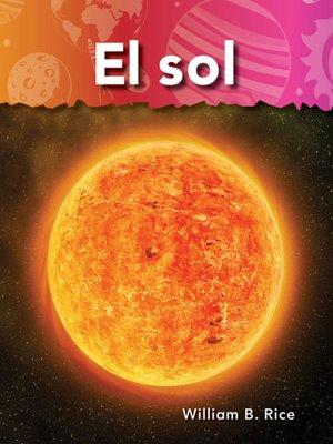 cover image of El sol (Sun)