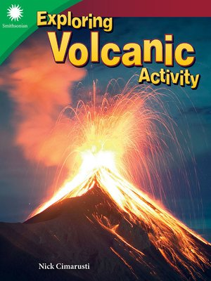 cover image of Exploring Volcanic Activity
