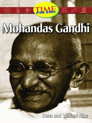 cover image of Mohandas Gandhi (Spanish Version)