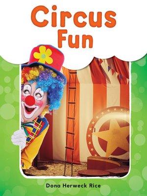 cover image of Circus Fun Read-Along eBook