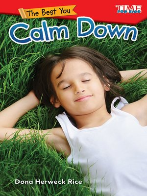 cover image of The Best You: Calm Down
