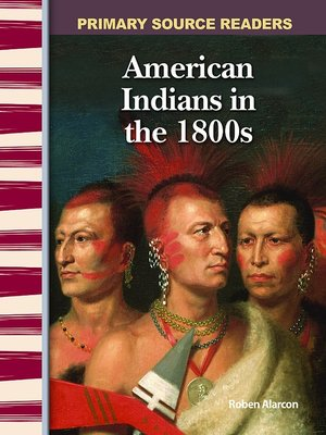 cover image of American Indians in the 1800s