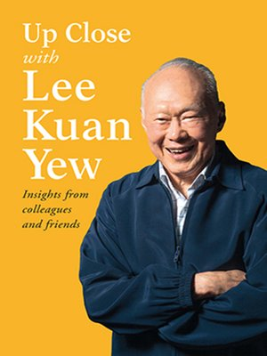 cover image of Up Close with Lee Kuan Yew