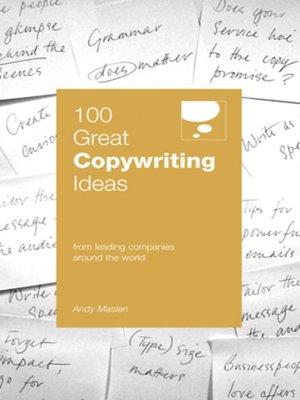 Andy maslen copywriting services