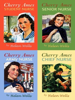 cover image of Cherry Ames Boxed Set 1-4