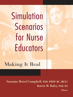 cover image of Simulation Scenarios for Nurse Educators