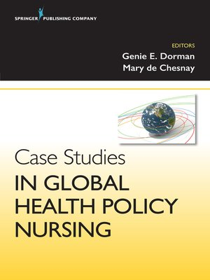 cover image of Case Studies in Global Health Policy Nursing