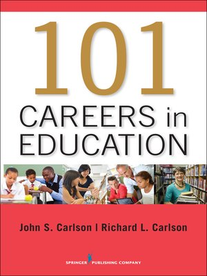 cover image of 101 Careers in Education