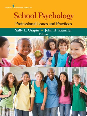 cover image of School Psychology