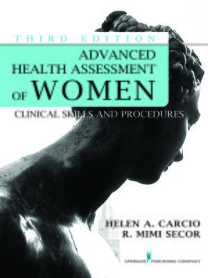 cover image of Advanced Health Assessment of Women