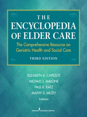 cover image of The Encyclopedia of Elder Care