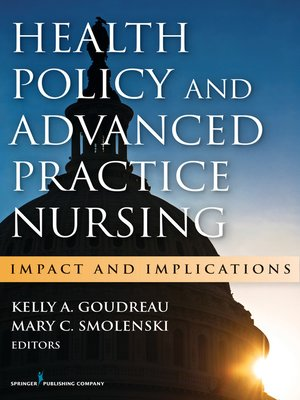cover image of Health Policy and Advanced Practice Nursing