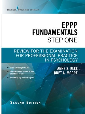 cover image of EPPP Fundamentals, Step One