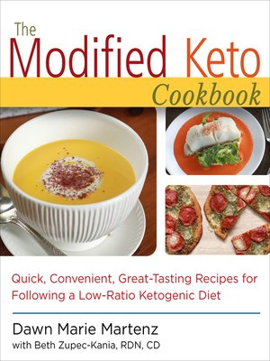 cover image of The Modified Keto Cookbook