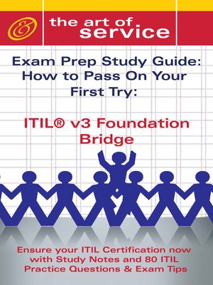 itil v3 foundation bridge certification exam preparation course in a