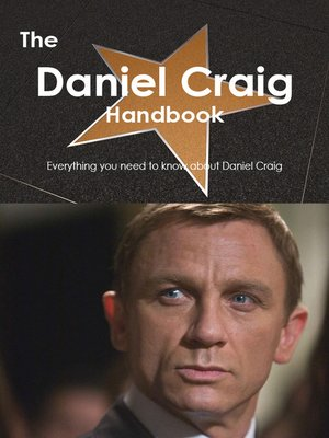 cover image of The Daniel Craig Handbook - Everything you need to know about Daniel Craig