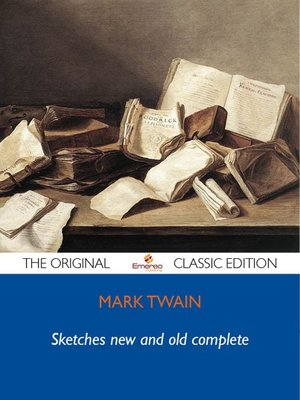 cover image of Sketches new and old complete - The Original Classic Edition