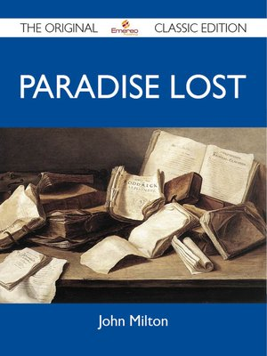 cover image of Paradise Lost - The Original Classic Edition