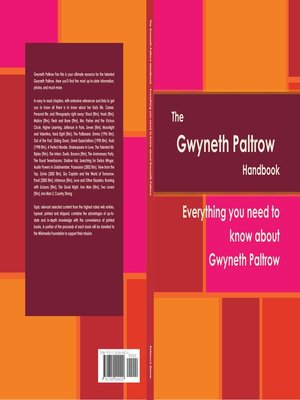 cover image of The Gwyneth Paltrow Handbook - Everything you need to know about Gwyneth Paltrow