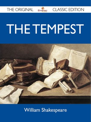 cover image of The Tempest - The Original Classic Edition