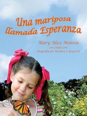 cover image of Una mariposa llamada Esperanza