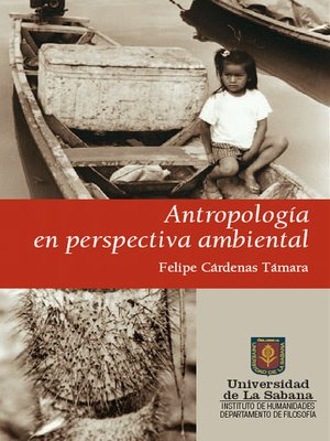 cover image of Antropología en perspectiva ambiental