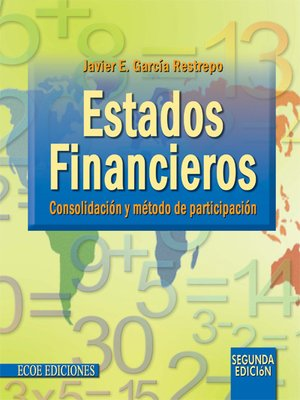 cover image of Estados financieros: consolidación y método de participación