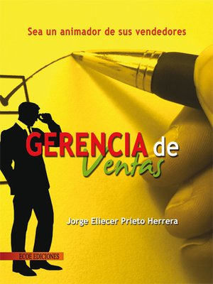 cover image of Gerencia de ventas