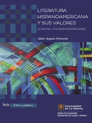 cover image of Literatura hispanoamericana y sus valores