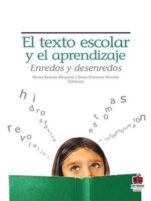 cover image of El texto escolar