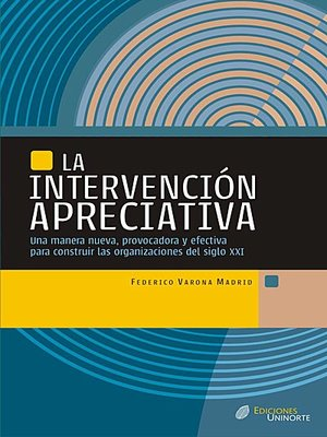 cover image of La Intervención Apreciativa