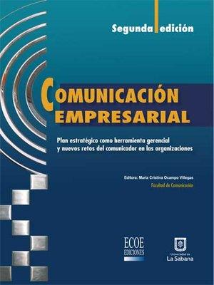 cover image of Comunicación empresarial