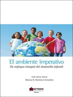 cover image of El ambiente imperativo